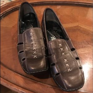 REIKER WOMENS DORIS 85 LOAFERS SZ 37 EURO